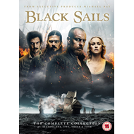 Black Sails - Sesong 1-4 (UK-import) (DVD)
