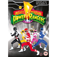 Mighty Morphin Power Rangers: Complete Season 3 (UK-import) (DVD)