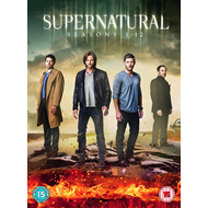 Supernatural - Sesong 1-12 (UK-import) (DVD)