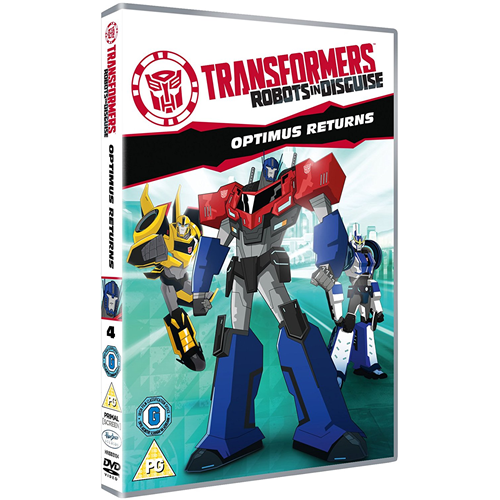 Transformers: Robots In Disguise - Optimus Returns (DVD)