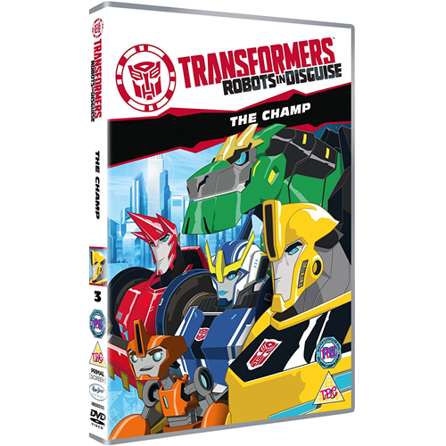 Transformers: Robots In Disguise - The Champ (UK-import) (DVD)