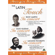The Latin Touch Box Collection (DVD)