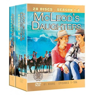 Mcleods Daughter - Sesong 1-4 (DVD)