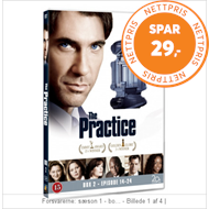 Produktbilde for The Practice - Box 2 (14-24) (DVD)