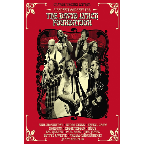 Change Begins Within: A Benefit Concert For The David Lynch Foundation (DVD)