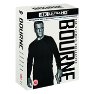 Bourne: The Ultimate 5-Movie Collection (4K Ultra HD + Blu-ray)