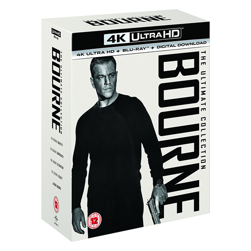 Bourne: The Ultimate 5-Movie Collection (UK-import) (4K Ultra HD + Blu-ray)