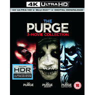 Produktbilde for The Purge 3-Movie Collection (UK-import) (4K Ultra HD + Blu-ray)