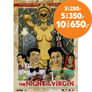 Produktbilde for The Night Of The Virgin (DVD)