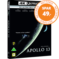 Produktbilde for Apollo 13 (4K Ultra HD + Blu-ray)