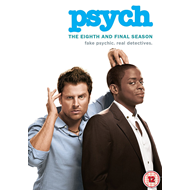 Psych - Sesong 8 (UK-import) (DVD)
