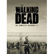 The Walking Dead: The Complete Seasons 1-7 (UK-import) (DVD)