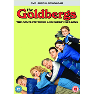 The Goldbergs: The Complete Seasons 3 & 4 (UK-import) (DVD)