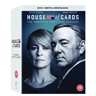 House Of Cards - Sesong 1 - 5 (UK-import) (DVD)