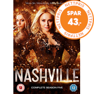 Produktbilde for Nashville - Sesong 5 (UK-import) (DVD)