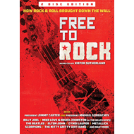 Free To Rock: How Rock & Roll Brought Down The Wall (DVD)