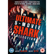 Produktbilde for The Ultimate 5-movie Shark Collection (UK-import) (DVD)