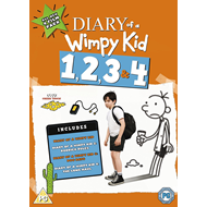 Diary Of A Wimpy Kid 1, 2, 3 & 4 (DVD)