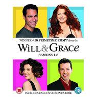 Will & Grace - The Complete Will & Grace (UK-import) (DVD)