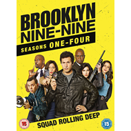 Brooklyn Nine-Nine - Sesong 1-4 (UK-import) (DVD)