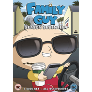 Family Guy - Sesong 17 (UK-import) (DVD)