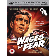 Produktbilde for The Wages Of Fear (UK-import) (DVD + Blu-ray)