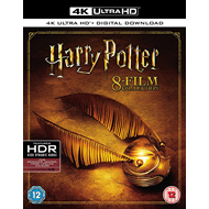 Harry Potter - Den Komplette Samlingen (UK-import) (4K ULTRA HD)