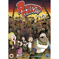 American Dad - Sesong 12 (UK-import) (DVD)