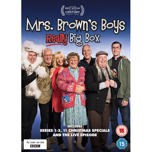 Mrs Brown's Boys: Really Big Box (UK-import) (DVD)