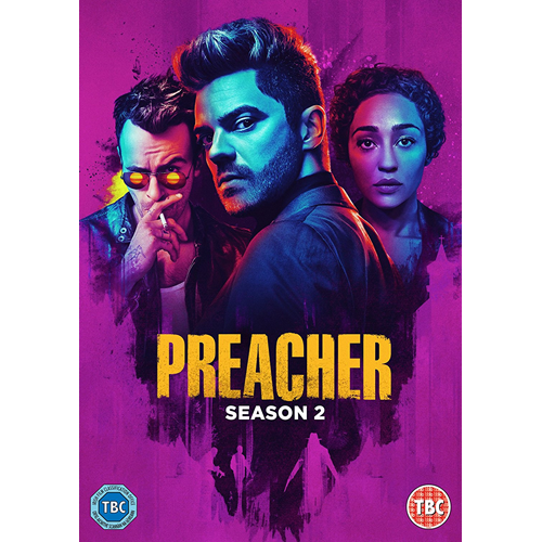 Preacher - Sesong 2 (UK-import) (DVD)