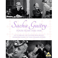 Sacha Guitry: Four Films 1936-1938 (UK-import) (Blu-ray + DVD)