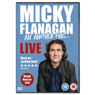 Micky Flanagan: An' Another Fing Live (UK-import) (DVD)
