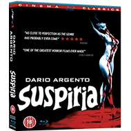 Suspiria (UK-import) (Blu-ray + DVD)