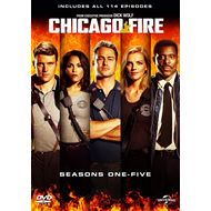 Chicago Fire - Sesong 1-5 (UK-import) (DVD)