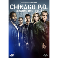 Chicago P.D. - Sesong 1-4 (UK-import) (DVD)
