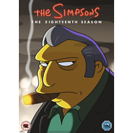 The Simpsons - Sesong 18 (UK-import) (DVD)