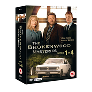 The Brokenwood Mysteries - Sesong 1-4 (UK-import) (DVD)
