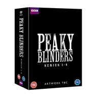 Peaky Blinders - Sesong 1-4 (UK-import) (DVD)