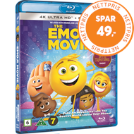 Produktbilde for Emoji-Filmen (4K Ultra HD + Blu-ray)