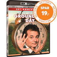 Produktbilde for Groundhog Day - 25th Anniversary Edition (4K Ultra HD + Blu-ray)