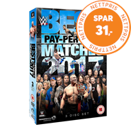 Produktbilde for WWE: Best PPV Matches 2017 (UK-import) (DVD)