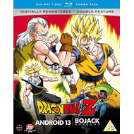 Dragon Ball Z Movie Collection Four: Super Android 13!/Bojack... (UK-import) (Blu-ray + DVD)