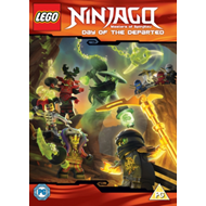 LEGO Ninjago - Masters Of Spinjitzu: Day Of The Departed (UK-import) (DVD)