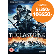 Produktbilde for The Last King (UK-import) (DVD)