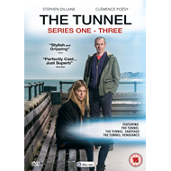 The Tunnel - Sesong 1-3 (UK-import) (DVD)
