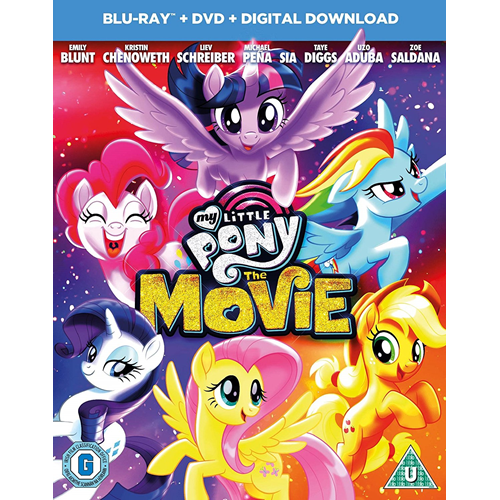 My Little Pony - The Movie (UK-import) (Blu-ray + DVD)