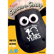 Sauen Shaun - Best Of 10 Years (UK-import) (DVD)