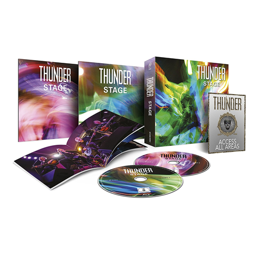 Thunder - Stage: Deluxe Edition (Blu-ray + DVD)