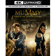 The Mummy: Tomb Of The Dragon Emperor (UK-import) (4K Ultra HD + Blu-ray)