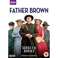 Father Brown - Sesong 1-6 (UK-import) (DVD)